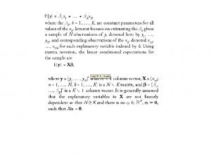 艾特肯线性最小二乘法Aitken's linear least square mothod